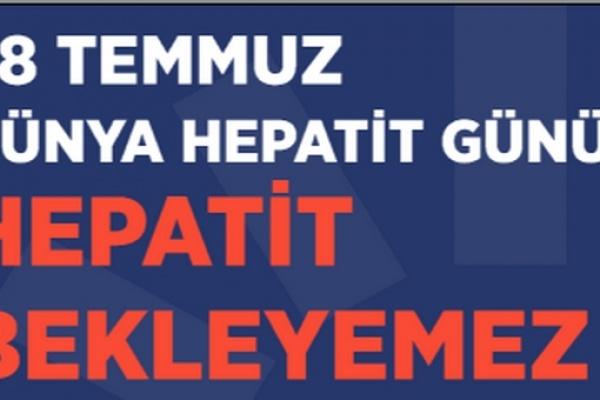 HEPATİT BEKLEYEMEZ POSTERLERİ TOPLU TAŞIMA ARAÇLARINDA